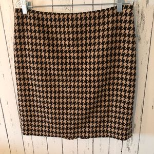 Talbots Skirts - 3 for $25! Talbots houndstooth skirt